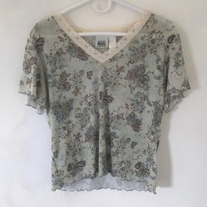 Ladies Paisley Blouse